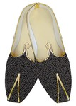 Mens Indian Bridal Shoes Black Wedding Shoes Offwhite Design