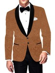 Mens Slim fit Casual Bisque Blazer Sport Jacket Coat Designer Style