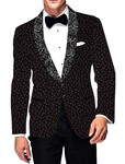 Mens Slim fit Casual Black Cotton Blazer sport jacket coat for Bridegroom