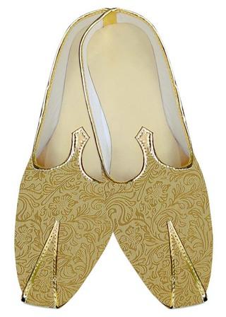 Mens Sherwani Shoes Golden Wedding Shoes Partywear Juti ForMen