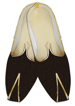 Juti ForMen Brown Shoes Self Design Pattern Wedding ShoeFor Groom