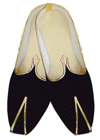 Indian MensShoes Purple Wine Wedding Shoes Bollywood Style Mens Juti