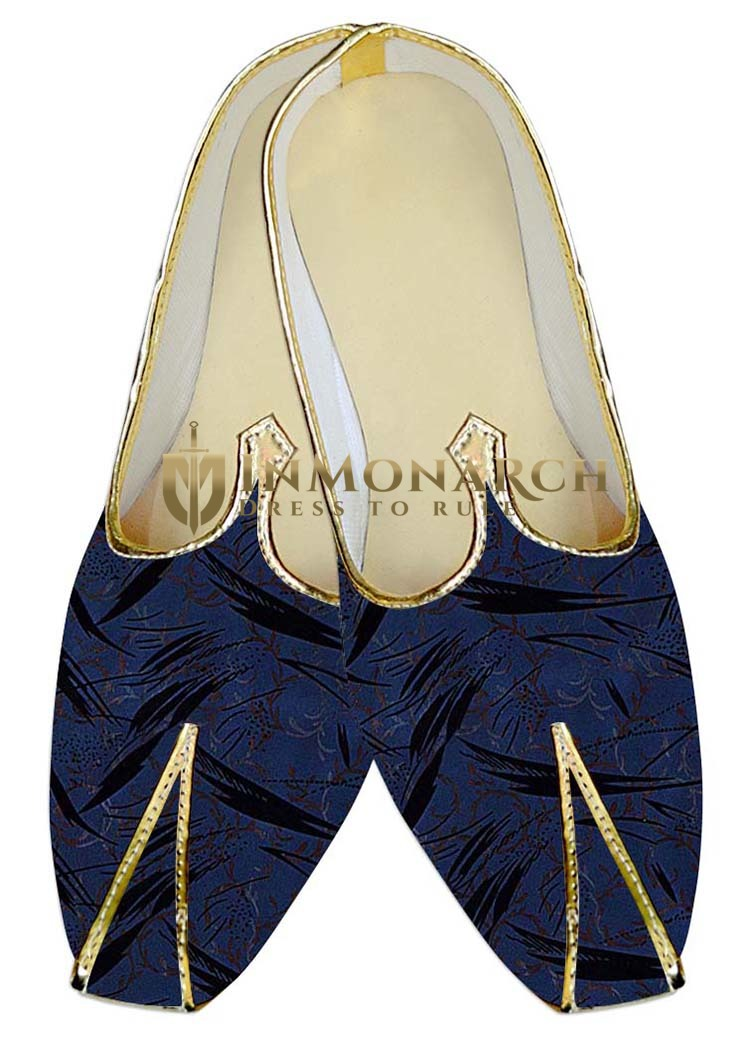 Traditional Shoes For Men Dark Navy Wedding Shoes Black Designs