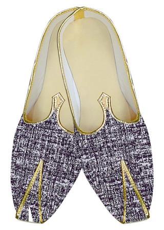 Juti ForMen Lavender Wedding Shoes Self lining Wedding ShoeFor Groom