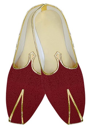 Indian Wedding Shoes For Men Red Wedding Shoes Flower Designs Traditional Shoes