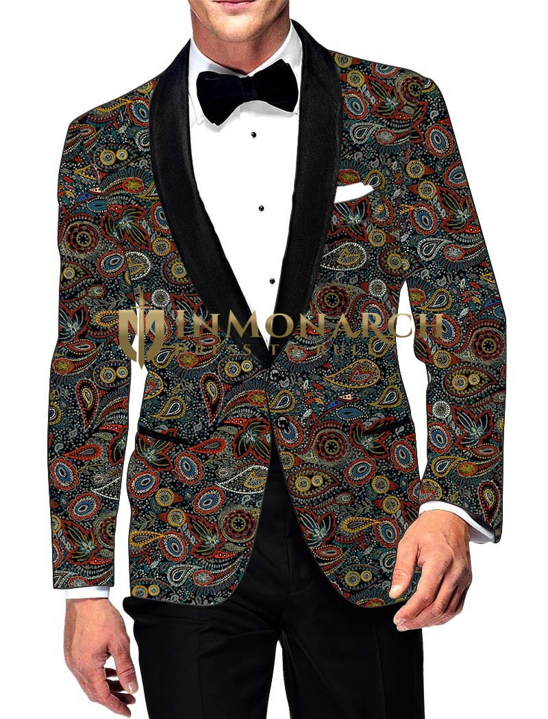 Mens Slim fit Casual Steel Blue Cotton Blazer sport jacket coat Bollywood Style