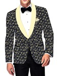 Mens Slim fit Casual Dark Navy Cotton Blazer sport jacket coat Wedding