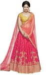 Crimson Silk Wedding Lehenga Choli