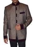 Mens Copper Jacket 5 button Mandarin Collar