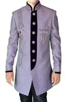 Indian Wedding for Men Plum Indo Western Wedding kurta for jeans