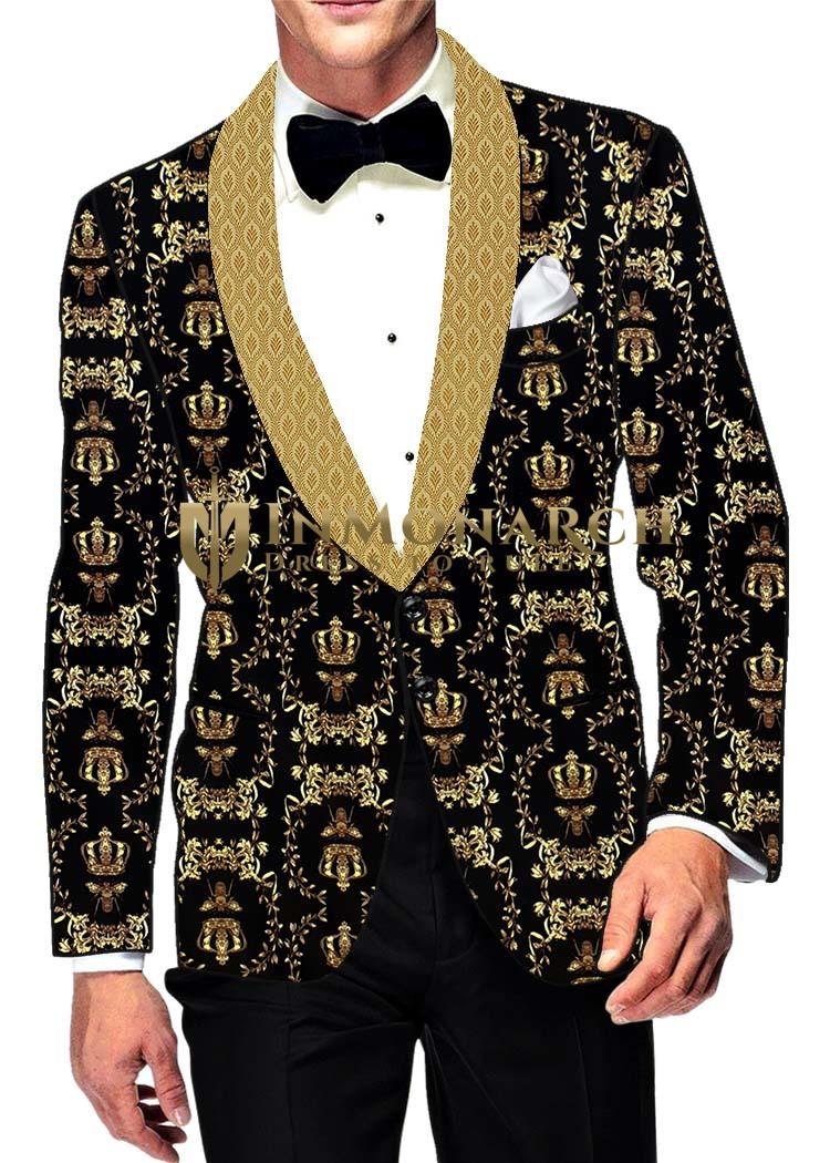 Mens Slim fit Casual Black Polyester Blazer sport jacket coat Shawl Lapel