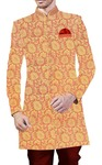 Indian Wedding for Men Peach Indowestern Sherwani Traditional