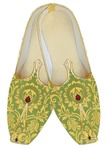 Traditional Shoes For Men Green Wedding Mojari Red Booties Indian Mens Shoes