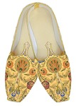 Indian Mens Shoes Yellow Wedding Shoes Traditional Groom Juti