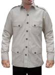 Mens Hunting Shirts Safari Cotton 4 pocket Boy Scout Uniform Bush Shirts