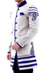 Kurta for Jeans White Indo Western Designer Embroidery Indian Wedding for Men