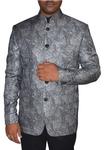 Mens Gray 2 Pc Jodhpuri Suit for Reception