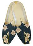Wedding shoe for groom Embroidered black shoes for men
