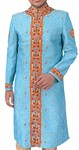 Mens Sky Blue Sherwani
