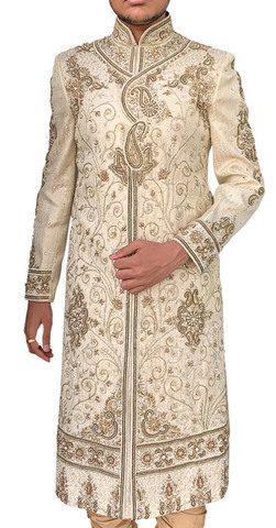 Mens Sherwani Heavy embroidered Indo-WesternOutfit