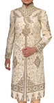 Mens Sherwani Heavy embroidered Indo-Western Outfit