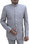 Mens Indian Nehru collar Suit