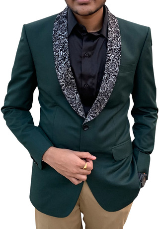 Mens Green Tuxedo Suit for Wedding
