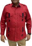 Boy ScoutUniform red Safari Shirt