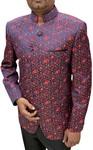 Mens Jodhpuri Suit with Floral Print