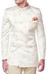 Mens Cream Jodhpuri Suit