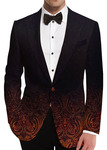 Mens Slim fit Black Dinner Blazer sport jacket coat