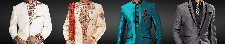 Indische hochzeit outfits für männer  InMonarch