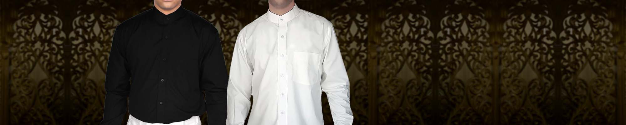 Mens Nehru Collar Shirt