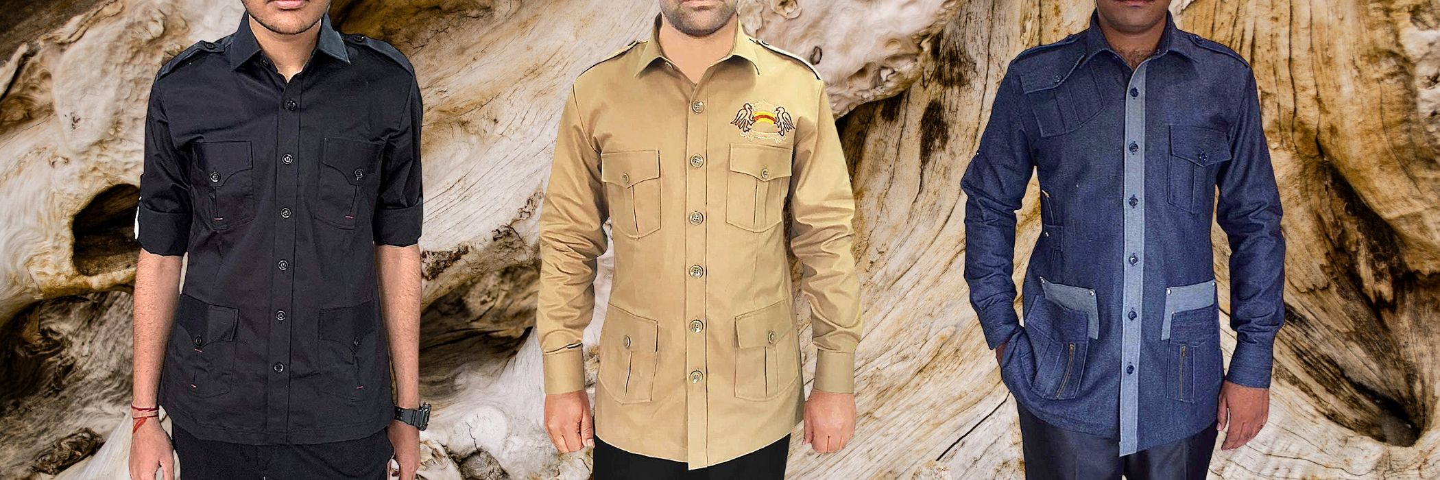 SAFARI HUNTING SHIRTS FOR MEN