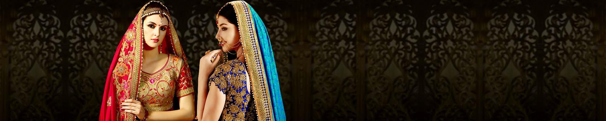 INDIAN BRIDAL SAREE FOR WOMEN
