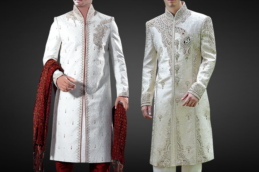 MENS WEDDING SHERWANI