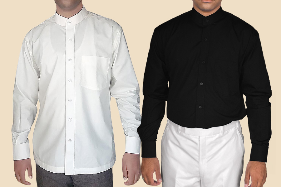 MENS NEHRU COLLAR SHIRTS