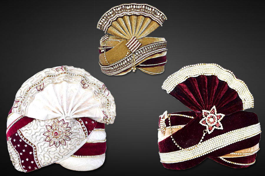 MENS INDIAN WEDDING TURBAN