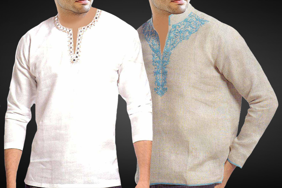 LINEN TUNICS FOR MEN