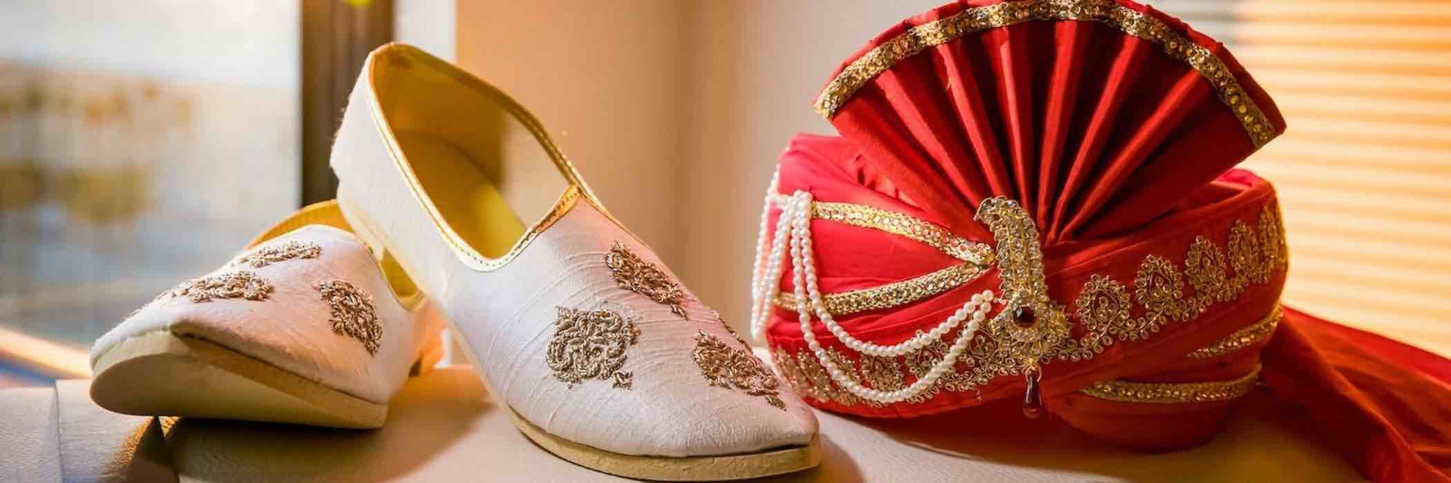 Indian Wedding Shoes for Groom